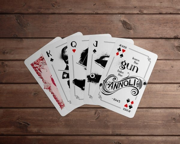 Godfather Playing Cards