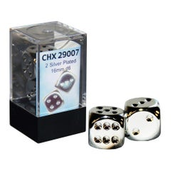Silver Plated 16mm D6 (2)