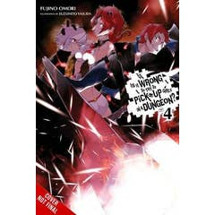 Is It Wrong to Try to Pick Up Girls in a Dungeon?, Vol. 4 (light novel)