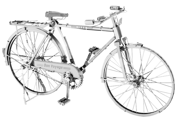 Classic Bicycle 3D Metal Model Kit