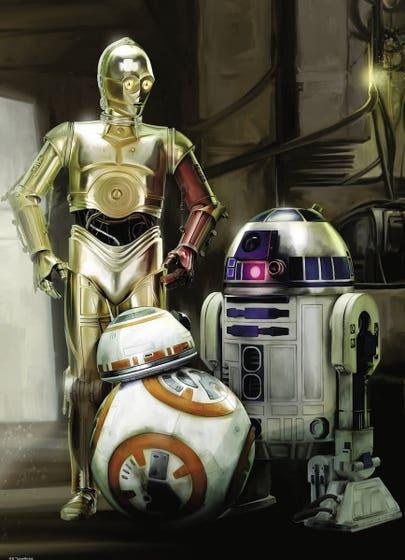 C-3PO, R2-D2 & BB-8 Puzzle (1000)