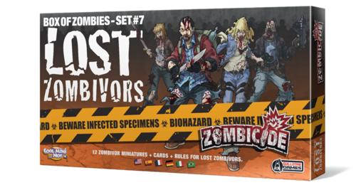 Zombicide: Box of Zombies Set #7 – Lost Zombivors