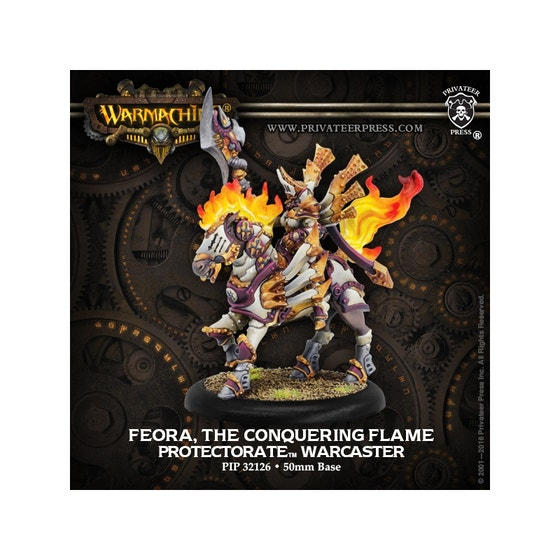 Feora, the Conquering Flame Warcaster