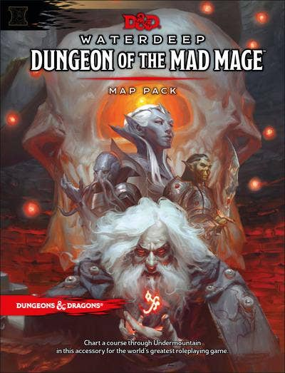 Dungeons & Dragons Waterdeep: Dungeon of the Mad Mage Maps and Miscellany