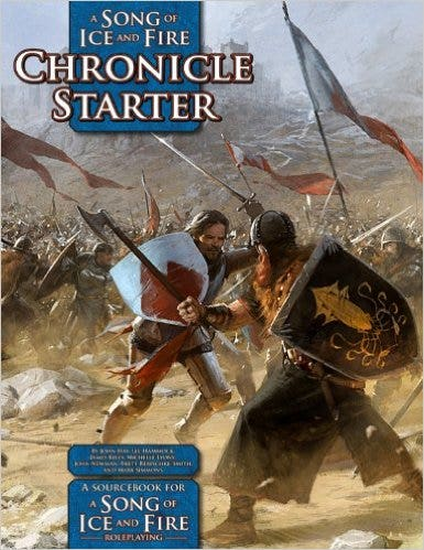 A Song of Ice and Fire Chronicle Starter: A Sourcebook for A Song of Ice and Fire RPG