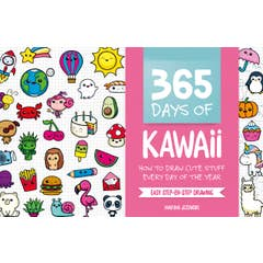 365 Days of Kawaii: How to Draw Cute Stuff Every Day of the Year