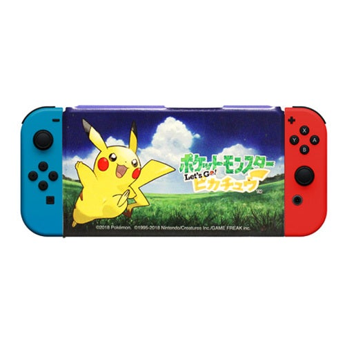 Let's Go, Pikachu! Cover W/ Stand for Switch