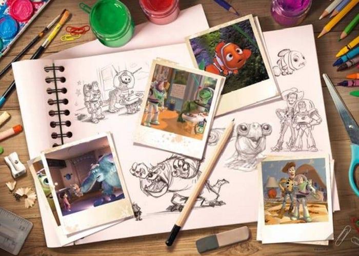 Disney Pixar: Sketches Puzzle (1000)