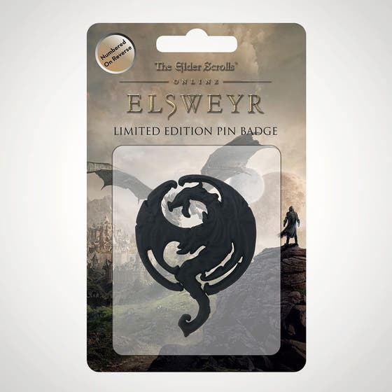 Elsweyr Limited Edition Pin Badge