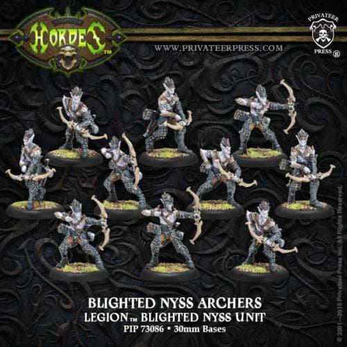 Bligthed Nyss Archers/Swordsmen - Unit