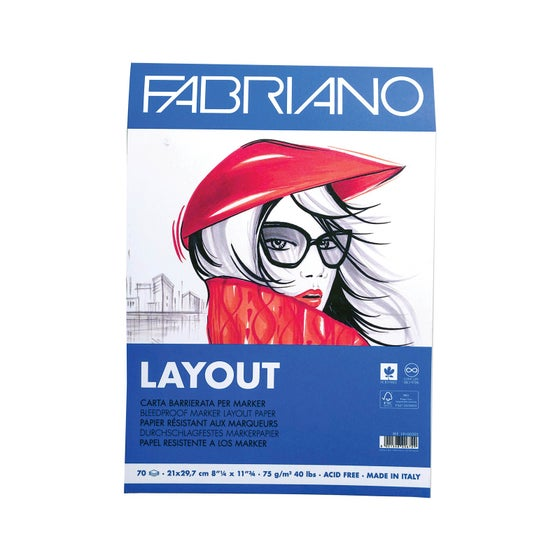 Layout Bleedroof Paper A4 75g (70 Ark)