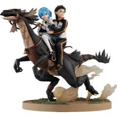 Re Starting Life Rem & Subaru Attack On White Whale Pvc Fig