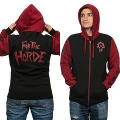 Horde Pride Zip-Up Hoodie (L)