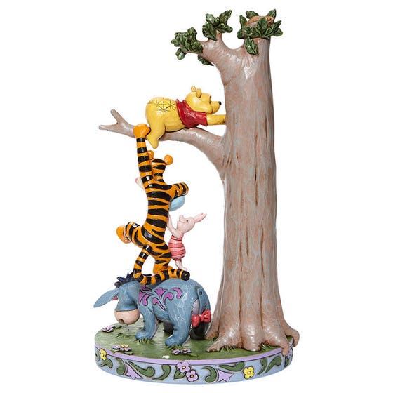 Tree with Pooh and Friends Figurine 22 cm