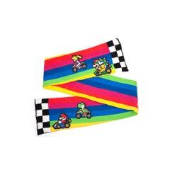 Super Mario Kart Rainbow Road Scarf