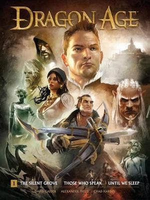 Dragon Age Library Edition Vol.1: The Silent Grove, Those Who Speak, Until We Sleep