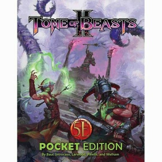 Tome of Beasts ll Pocket Edition for 5th Edition