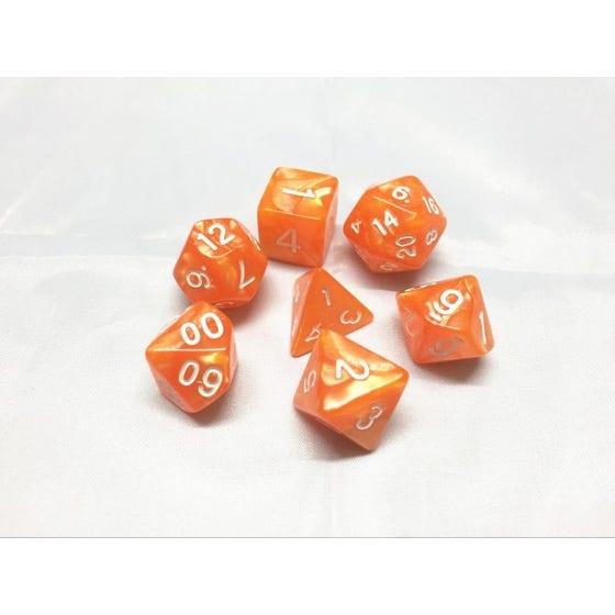 Pearl Poly Orange /White (7)