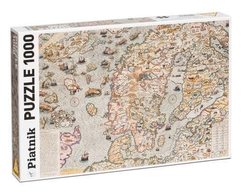 Maritime Map Puzzle (1000)