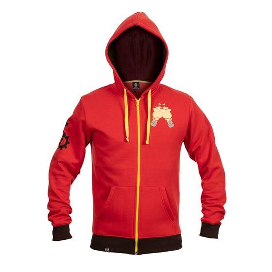 Red Ultimate Torbjorn Zip-Up Hoodie (3XL)