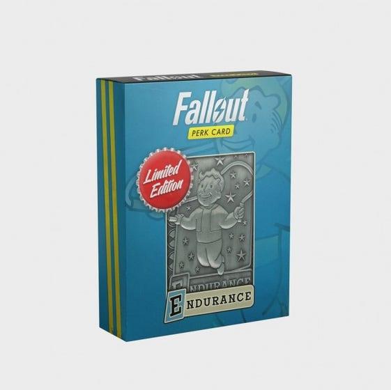 Endurance Fallout Limited Edition Perk Card