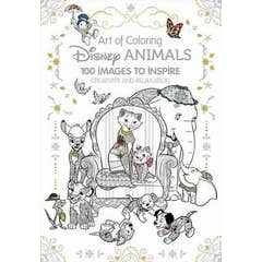 Art Therapy: Disney Animals: 100 Images to Inspire Creativity and Relaxation