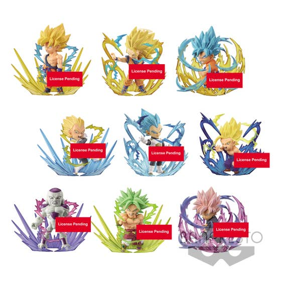 Dragon Ball Super SCF Chibi Figure 7 cm