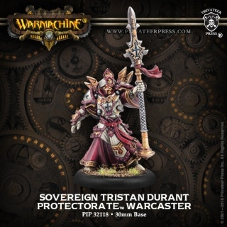 Sovereign Tristan Durant Warcaster (metal)