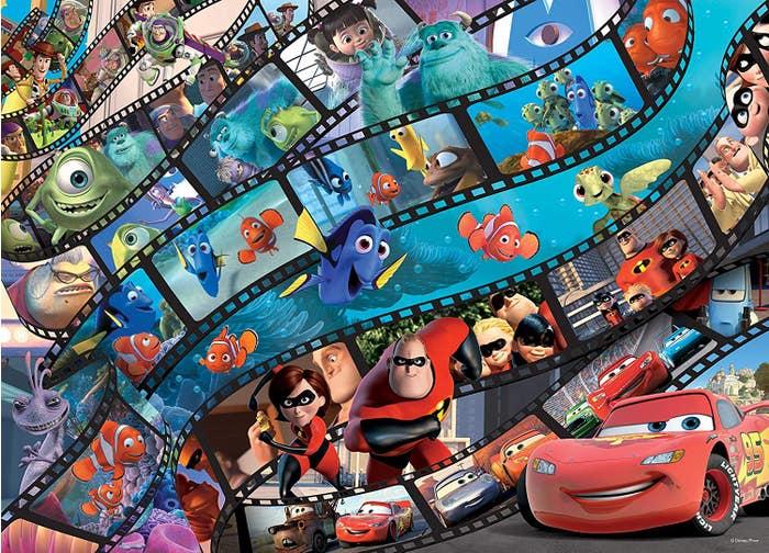 Disney Pixar Puzzle (1000)