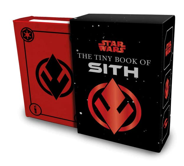 Star Wars: The Tiny Book of Sith (Tiny Book): Knowledge from the Dark Side of the Force