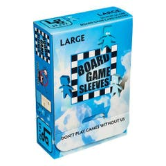 Non Glare Large Board Game Sleeves 59x92 mm (50)