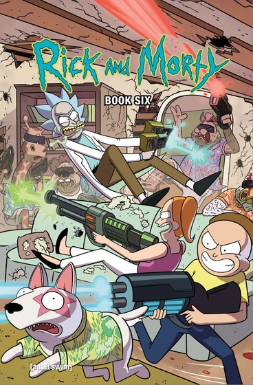 Rick And Morty Book 06 Deluxe Edition
