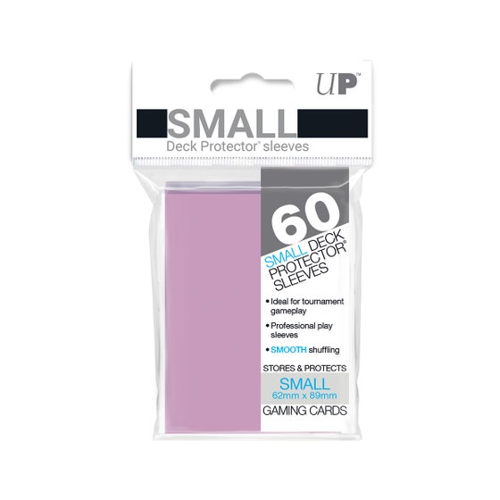 Small Size Pink Deck Protector Sleeves (60)