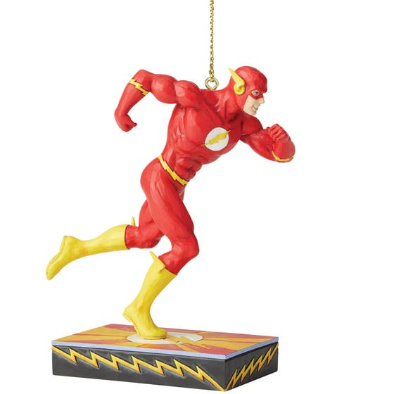 Flash Silver Age Hanging Ornament 8 cm