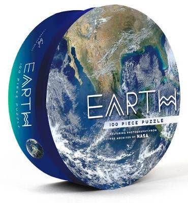 Earth: 100 Piece Puzzle: Featuring photography from the archives of NASA