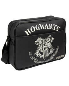 Hogwarts Shoulder Strap Faux Leather Handbag