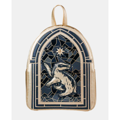 Hufflepuff Stained Glass Window Backpack