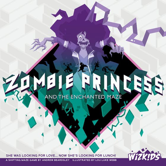 Zombie Princess and the Enchanted Maze