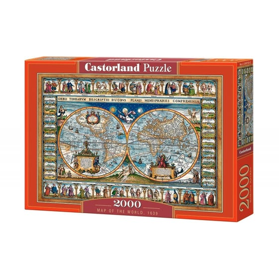 Map of The World 1639 Puzzle (2000)