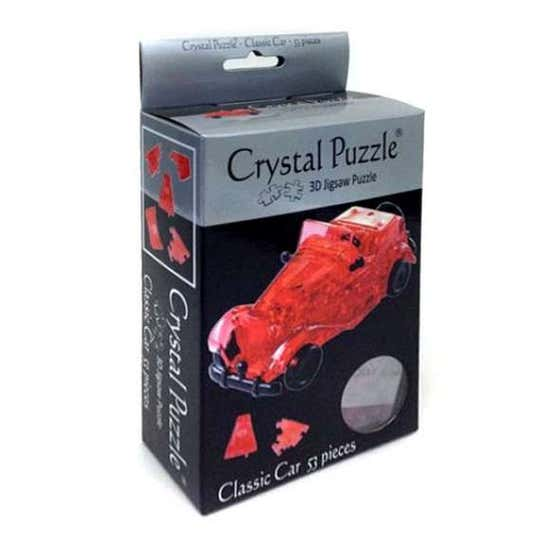 Red Car 3D Crystal Puzzle