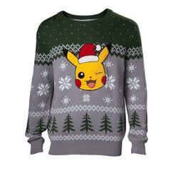 Pikachu Knitted Sweater (M)