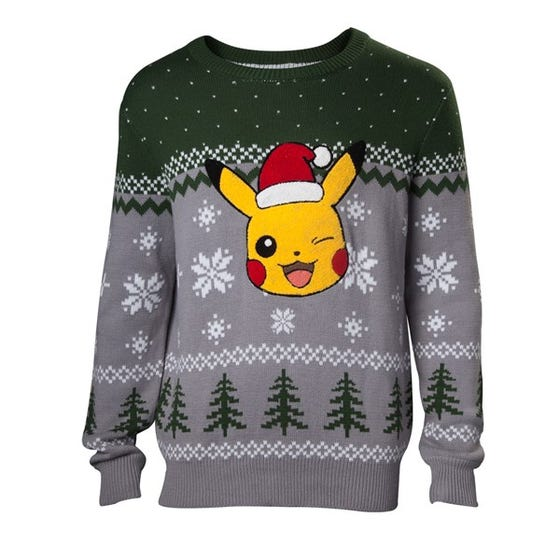 Pikachu Knitted Sweater (XL)