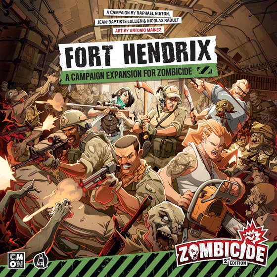 Zombicide 2nd Edition Fort Hendrix Expan