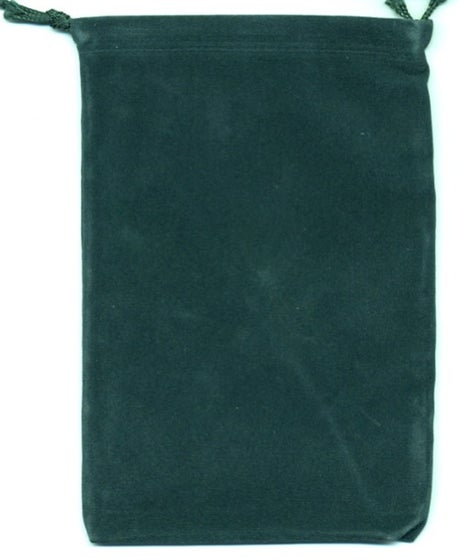 Green Velour Dice Pouch (small)