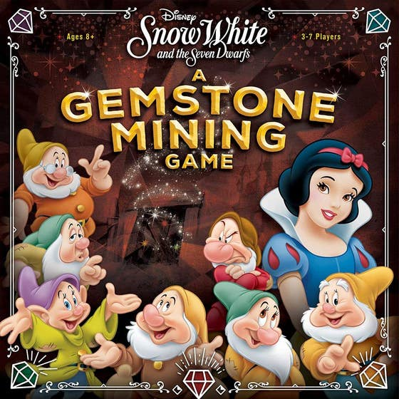 Snow White and the Seven Dwarfs: A Gemstone Mining Game