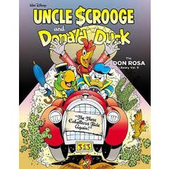"""Walt Disney Uncle Scrooge and Donald Duck: """"the Three Caballeros Ride Again!"""": The Don Rosa Library Vol. 9"""