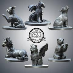 Baby Animal Miniatures Pack (6)