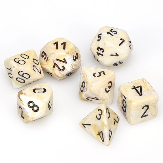 Marble Poly Ivory /Black (7)