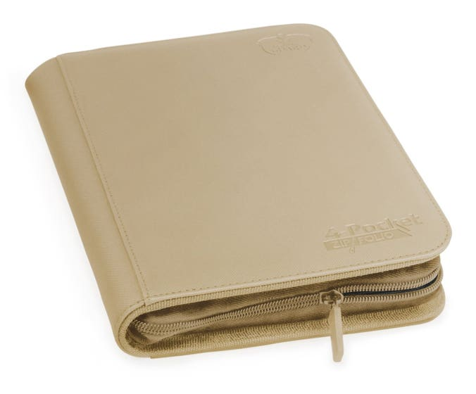 XenoSkin 4-Pocket Sand ZipFolio