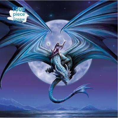 Adult Jigsaw Puzzle Anne Stokes: Moonstone: 1000-piece Jigsaw Puzzles